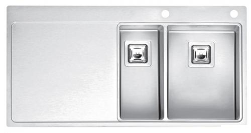 Мойка кухонная Reginox Nevada 18x40 lux okg right (c/box) l мойка кухонная reginox orlando lux okg box