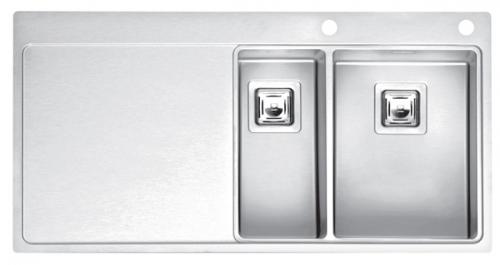 Мойка кухонная Reginox Nevada 30x40 lux okg left(c/box) l мойка кухонная reginox orlando lux okg box