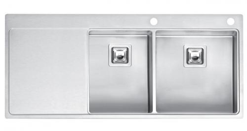 Мойка кухонная Reginox Nevada 30x40 lux okg right (c/box) l кухонная мойка teka classic 1b 1d lux