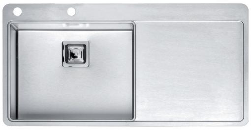 Мойка кухонная Reginox Nevada 40 lux okg right(c/box) l кухонная мойка teka classic 1b 1d lux