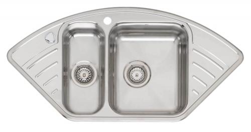 Мойка кухонная Reginox Empire r15 lux kgokg left (c/box) /set