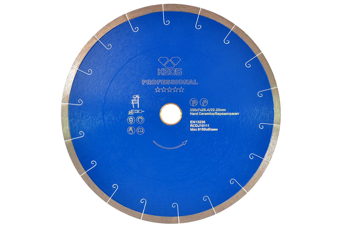 Круг алмазный Keos Dbp01.250