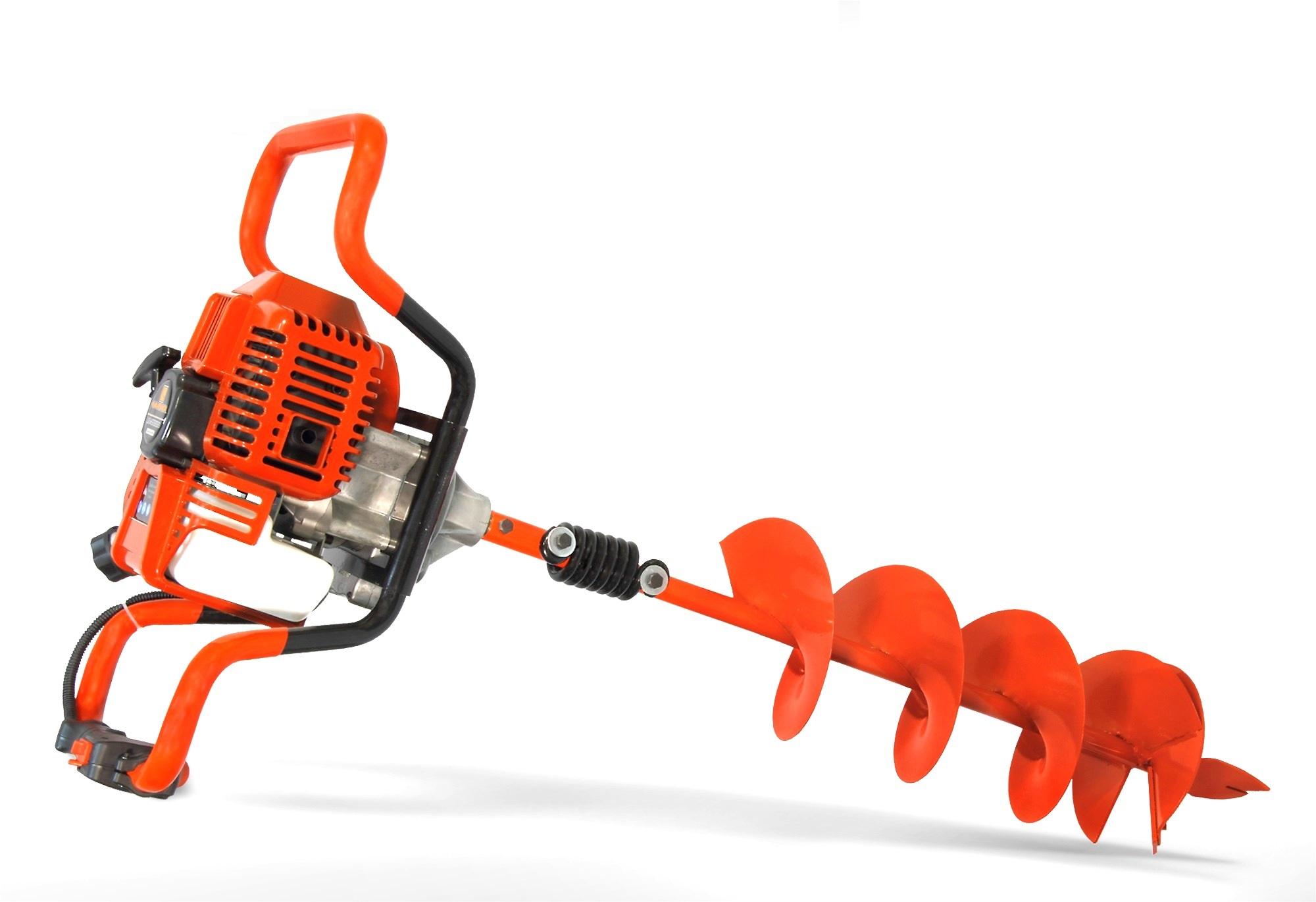 Мотобур Carver Ag–252/200 pro + шнек 200мм