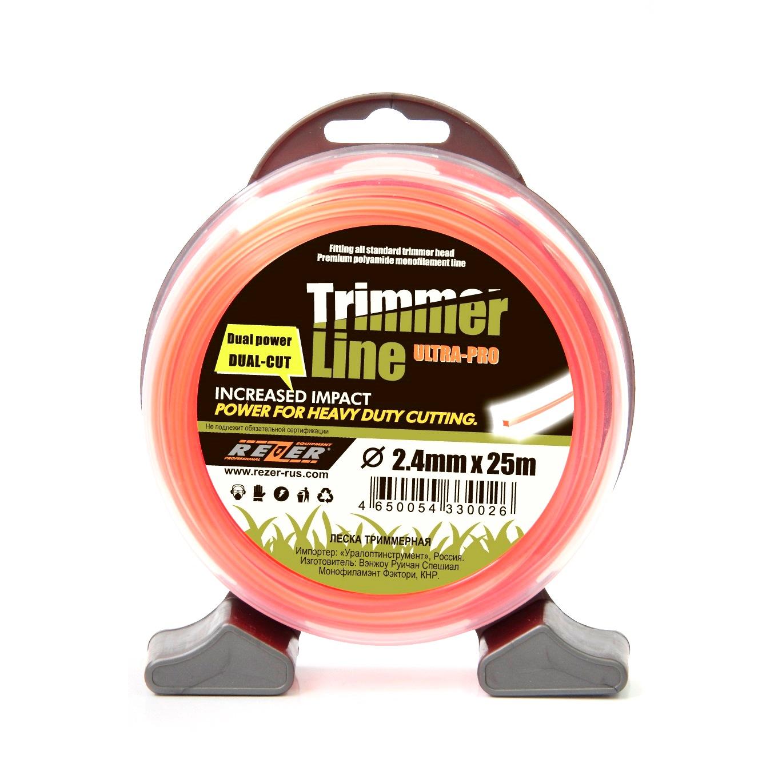 Леска для триммеров Rezer Ultra-pro «dual-cut» цена