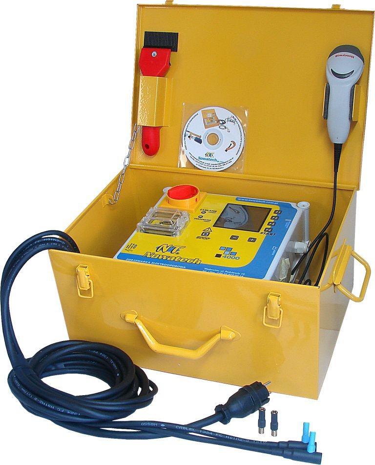 Аппарат для сварки пластиковых труб Nowatech Zern-4000 plus аппарат для сварки пластиковых труб nowatech zern 800 plus