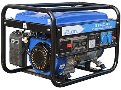 Бензиновый генератор ТСС Sgg 2600 l бензиновый отбойный молоток тсс tss gjh95 207000