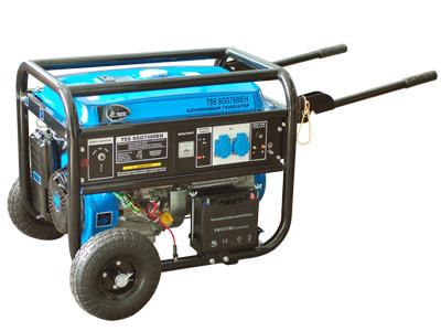 Бензиновый генератор ТСС Sgg 7000eh виброплита тсс tss vp60s 207246