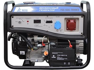 Бензиновый генератор ТСС Sgg 7500e3 генератор бензиновый tss sgg 2600l