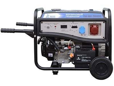 Бензиновый генератор ТСС Sgg 7500eh3 генератор бензиновый tss sgg 2600l