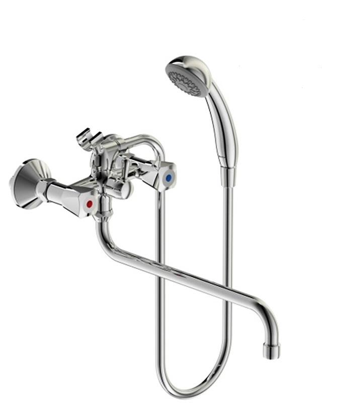 Смеситель для ванны Vidima Ba230aa смеситель для ванны smartsant смарт прайм sm113502aa