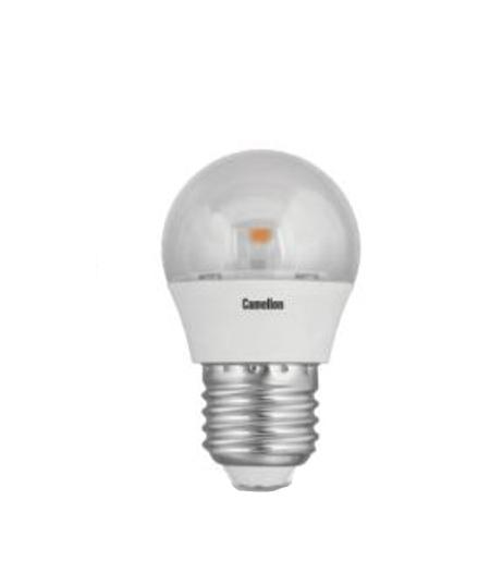 Лампа светодиодная Camelion Led6.5-g45-cl/830/e27 лампа светодиодная camelion led5 g45 830 e27