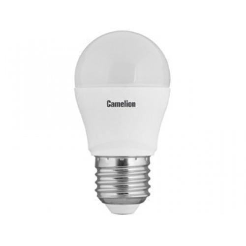 Лампа светодиодная Camelion Led7.5-g45/830/e27 лампа светодиодная camelion led5 g45 830 e27