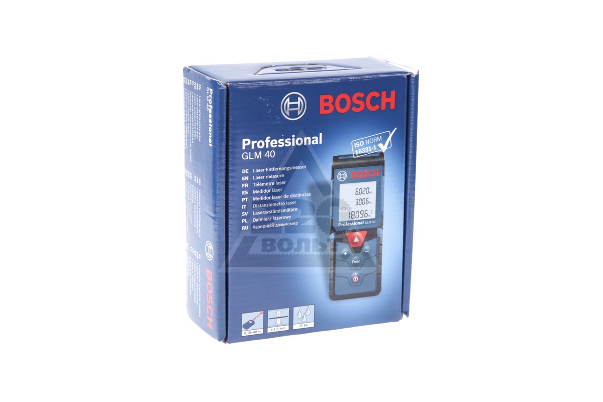 Bosch Entfernungsmesser Glm 40 : Дальномер bosch glm 40 0.601.072.900 купить цена отзывы: 11