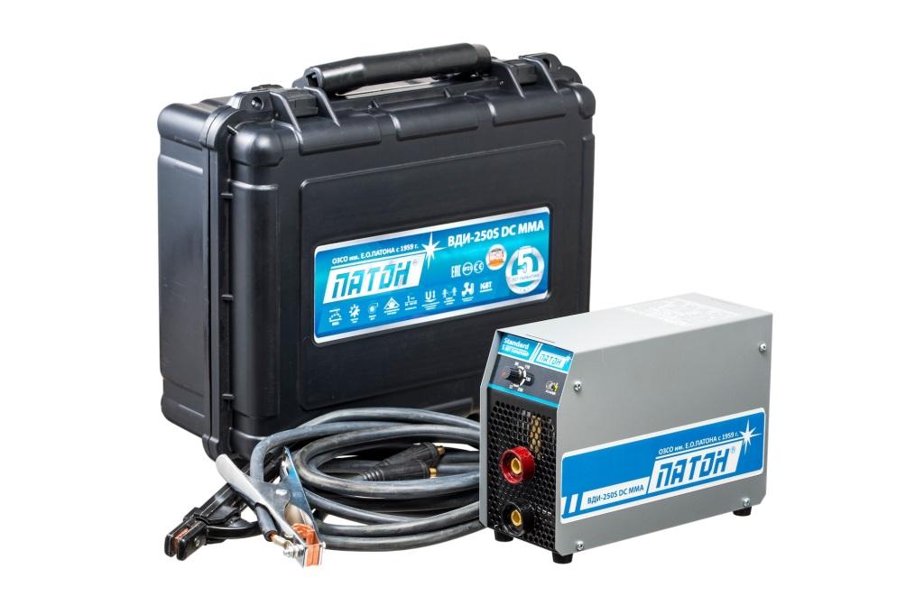 Сварочный аппарат ПАТОН ВДИ-250s dc mma/tig аппарат аргонодуговой сварки aurora pro inter tig 250 tig mma