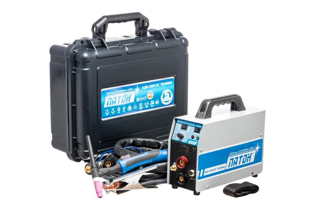 Сварочный аппарат ПАТОН АДИ-200s dc tig/mma сварочный аппарат тсс pro tig mma 300p ac dc