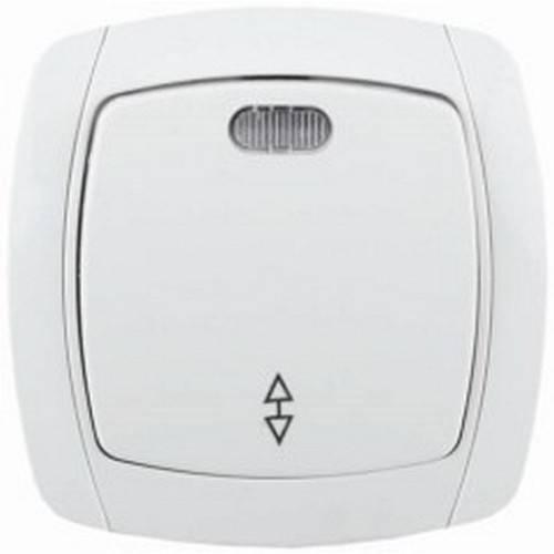 Выключатель СВЕТОЗАР Sv-54238-w двухклавишный выключатель светозар аврора sv 54336 w