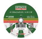 Круг отрезной HITACHI 230х2.5х22 А24 упак. 25 шт.