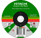 Круг зачистной HITACHI 180х6х22мм 14А упак.10шт