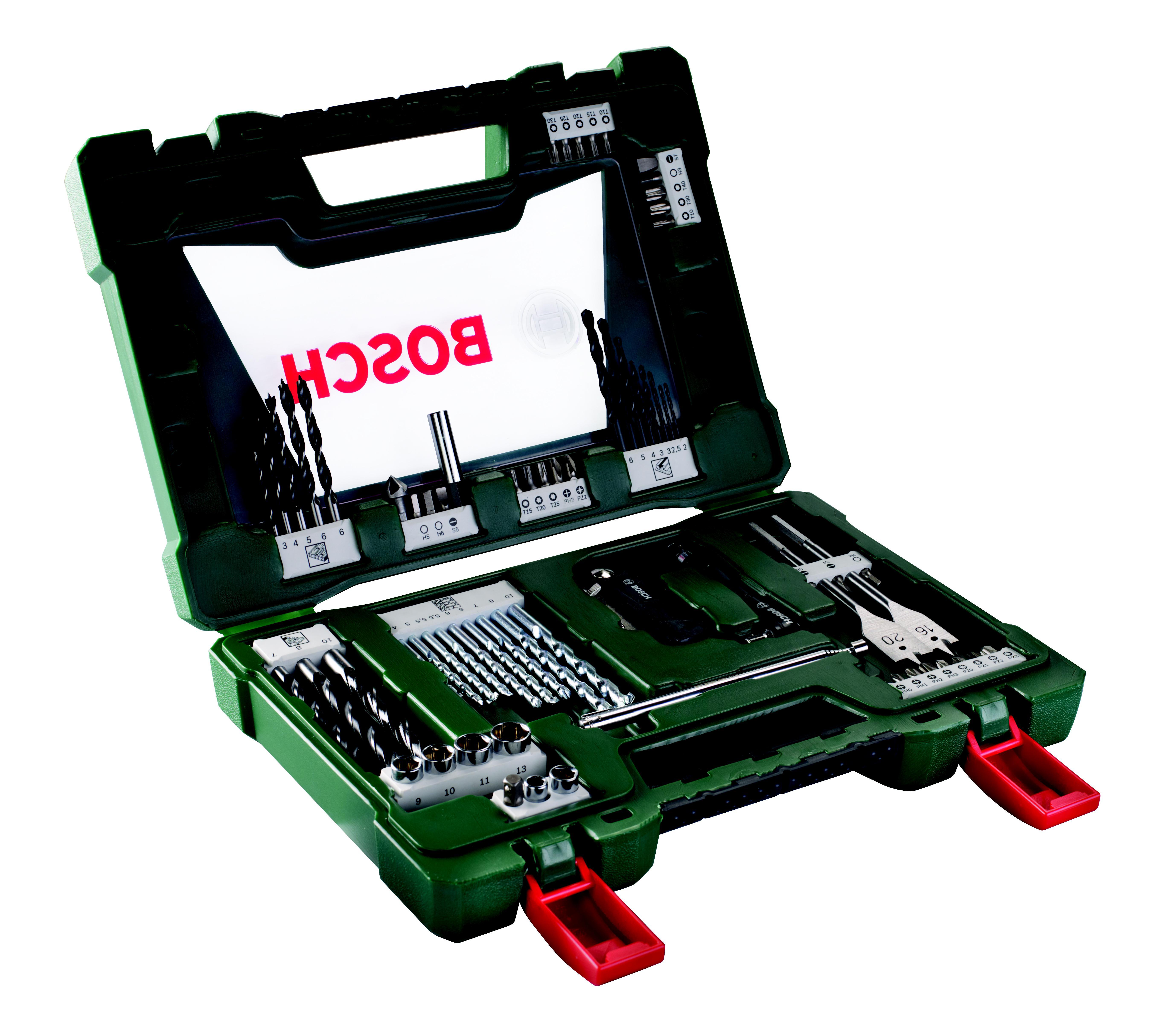 Набор бит и сверл Bosch V-line-68 (2.607.017.191) набор принадлежностей bosch v line 48 предметов [2607017314]