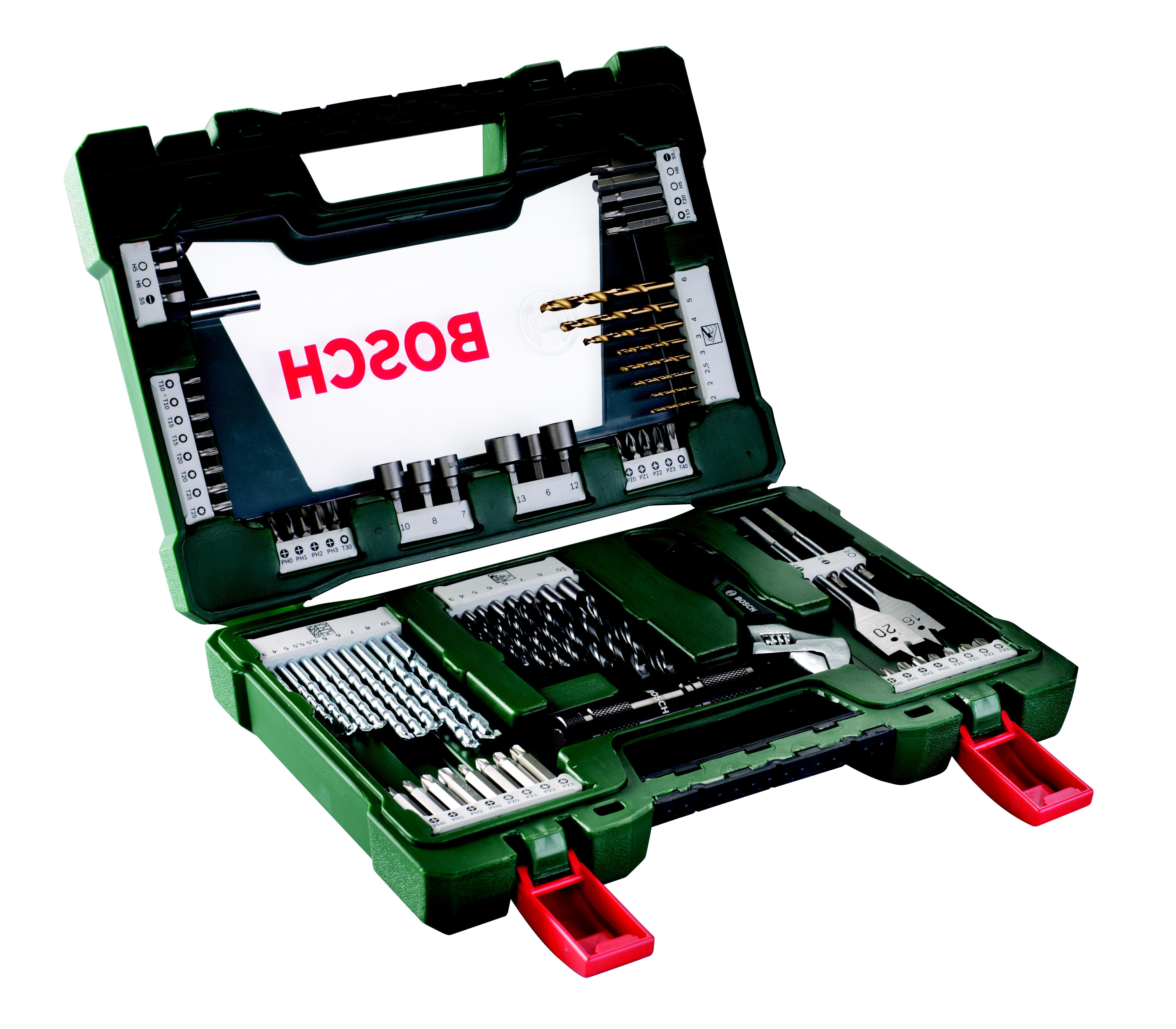 Набор бит и сверл Bosch V-line-83 83шт (2.607.017.193) набор бит и сверел bosch x line 70 2607019329879