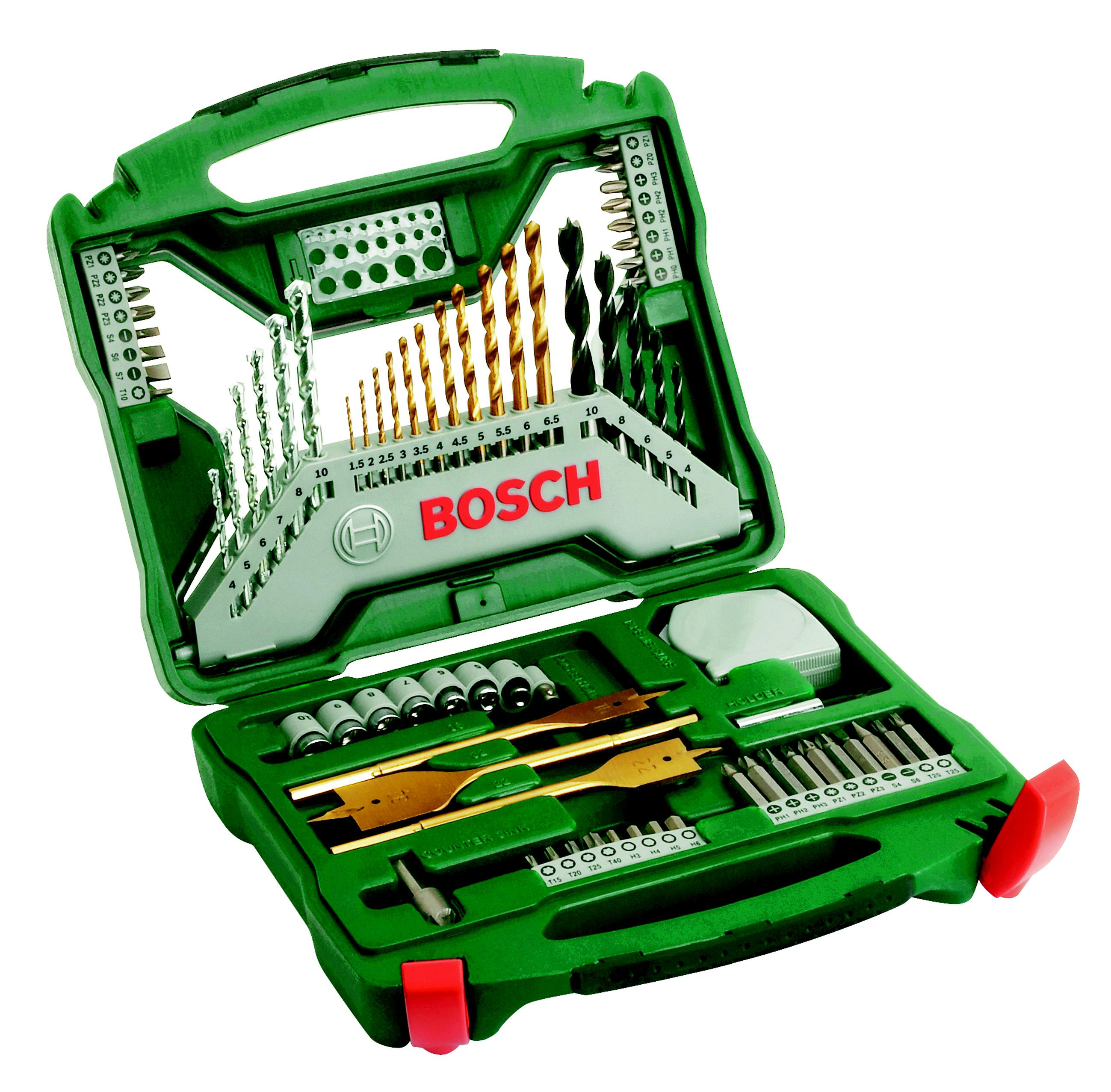 Набор бит и сверл Bosch X-line-70 promoline (2.607.019.329) набор бит и сверел bosch x line titanium 2607019329
