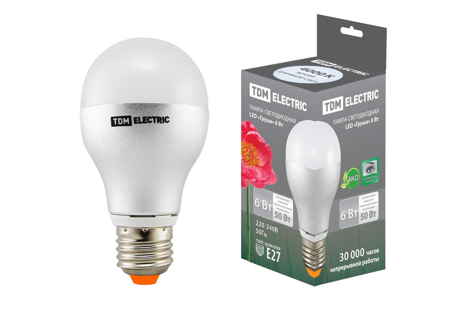 Лампа светодиодная Tdm Sq0340-0067