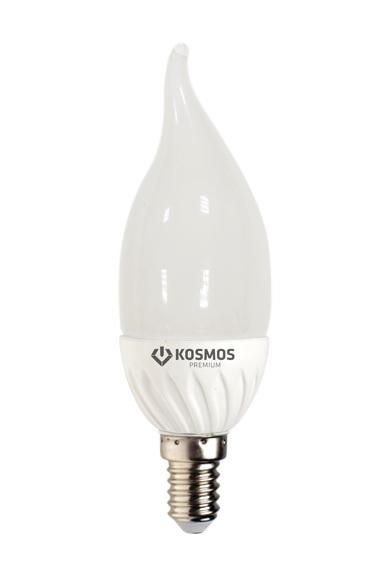 Лампа светодиодная КОСМОС Led cn 7Вт 220В e14 4500К