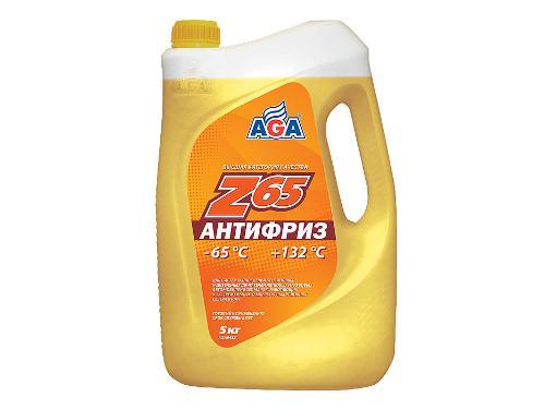 Антифриз желтый AGA 043Z