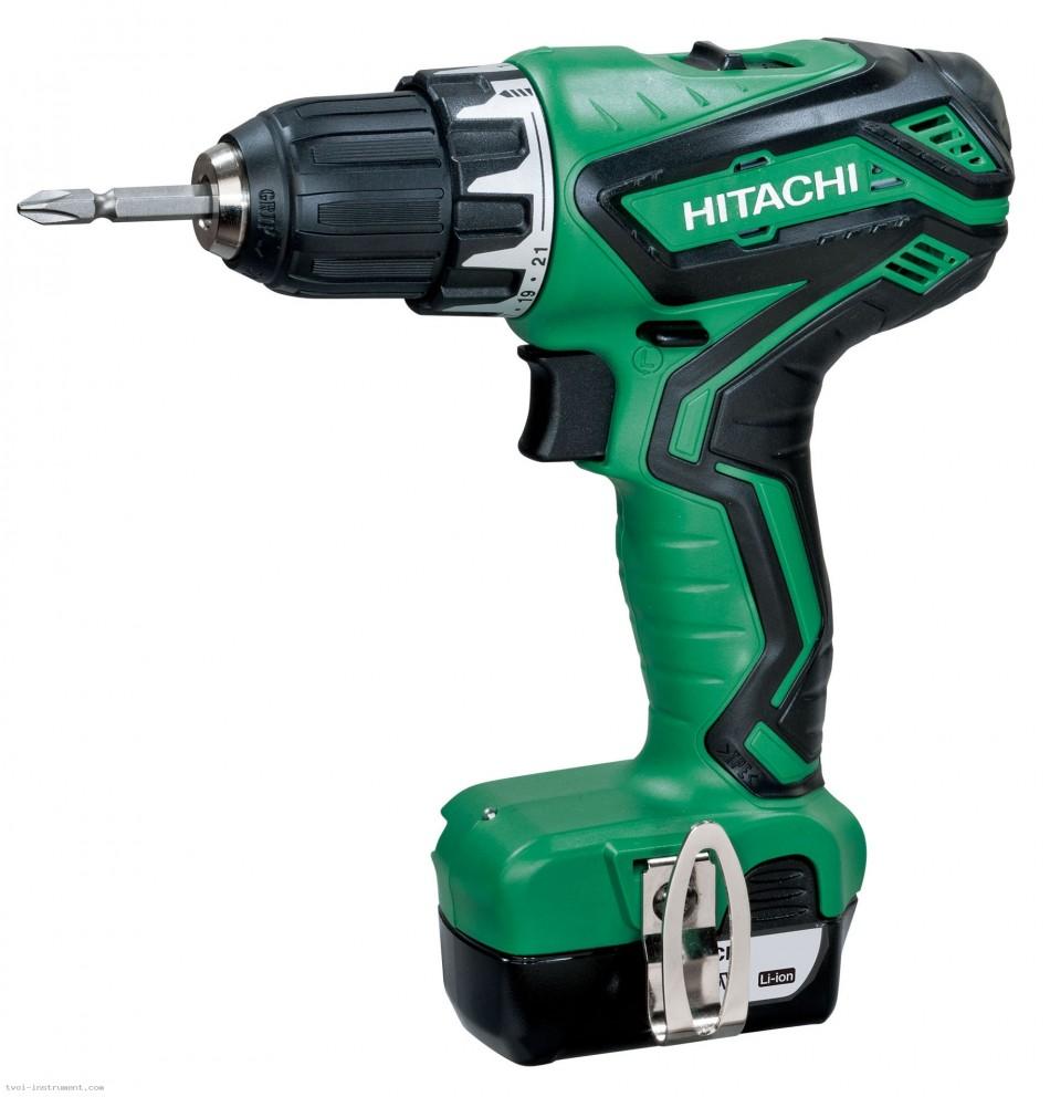 цена на Шуруповерт аккумуляторный Hitachi Ds10dal