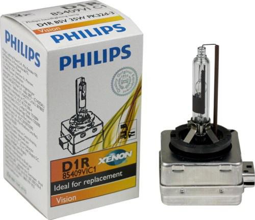 Автолампа Philips D1r (35) pk32d-3 xenon vision 4600k 85v /1/2