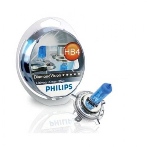 Лампа автомобильная Philips 9006dvs2 галогенная лампа philips hb4 p22d blue vision ultra