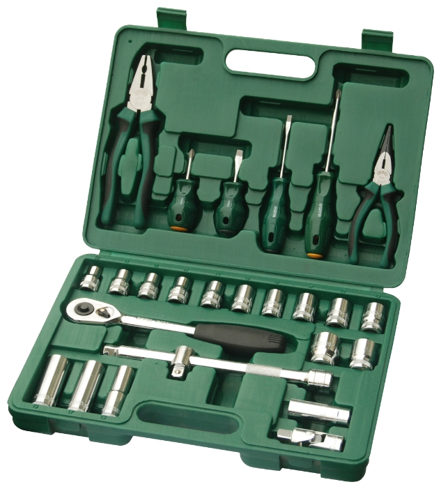 Набор инструментов универсальный Sata 09501 набор инструментов sata 56пр 09509