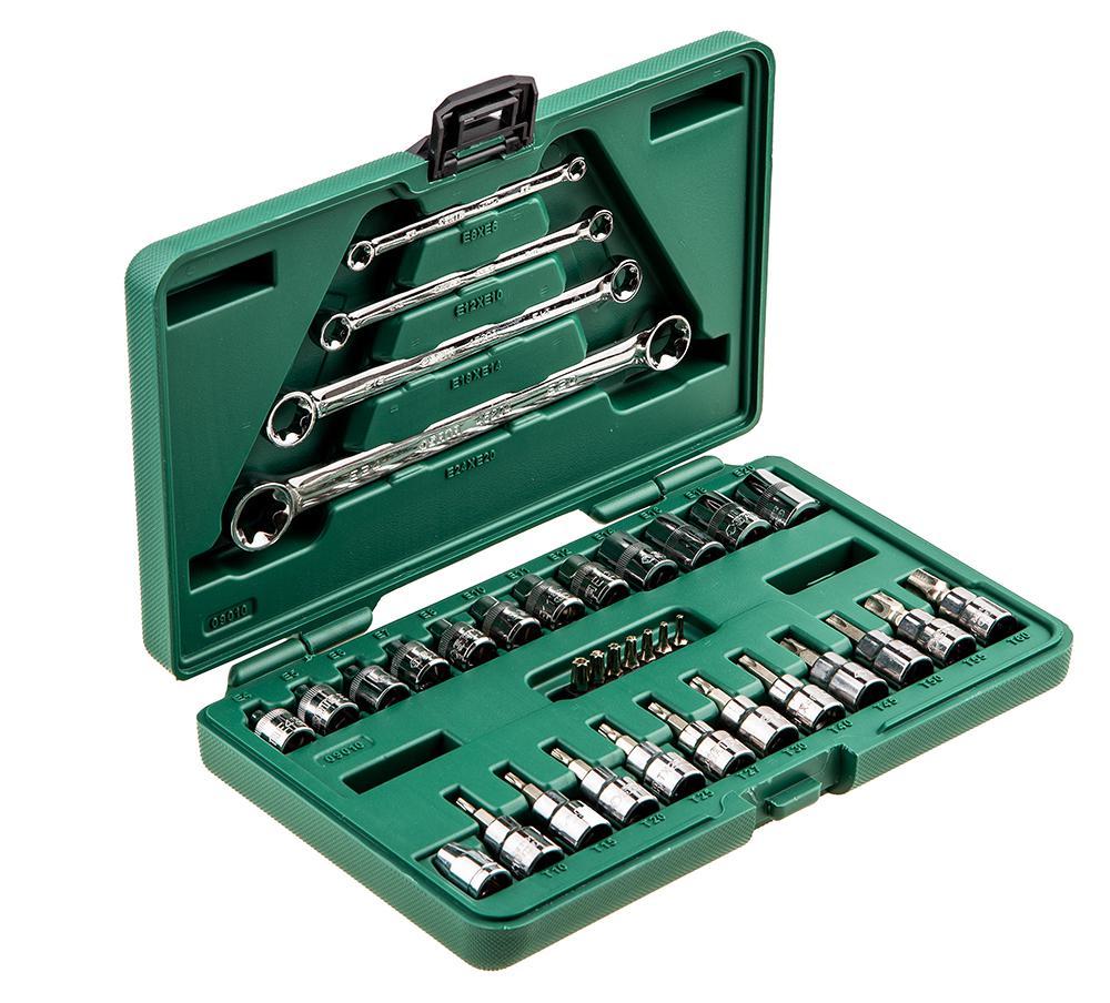 Универсальный набор инструментов Sata 09010 набор инструментов sata 56пр 09509