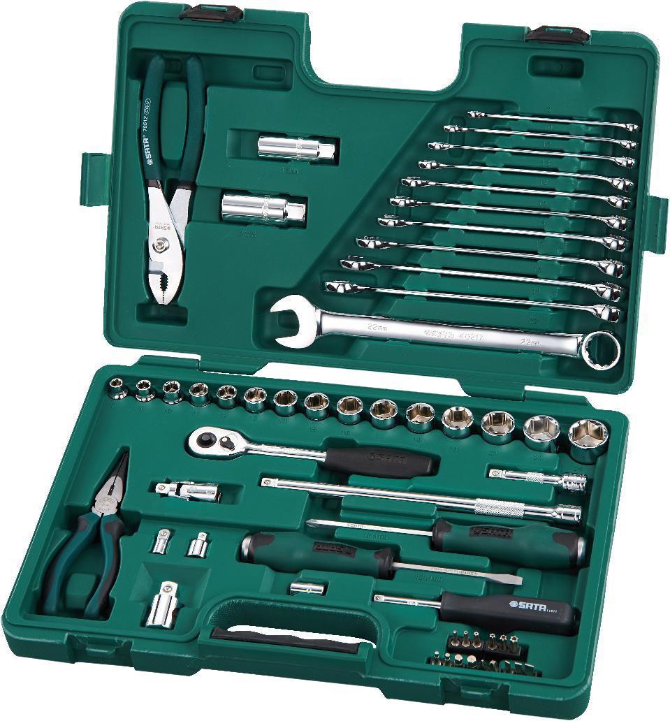 Набор инструментов универсальный Sata 09509 набор инструментов универсальный sata 09326