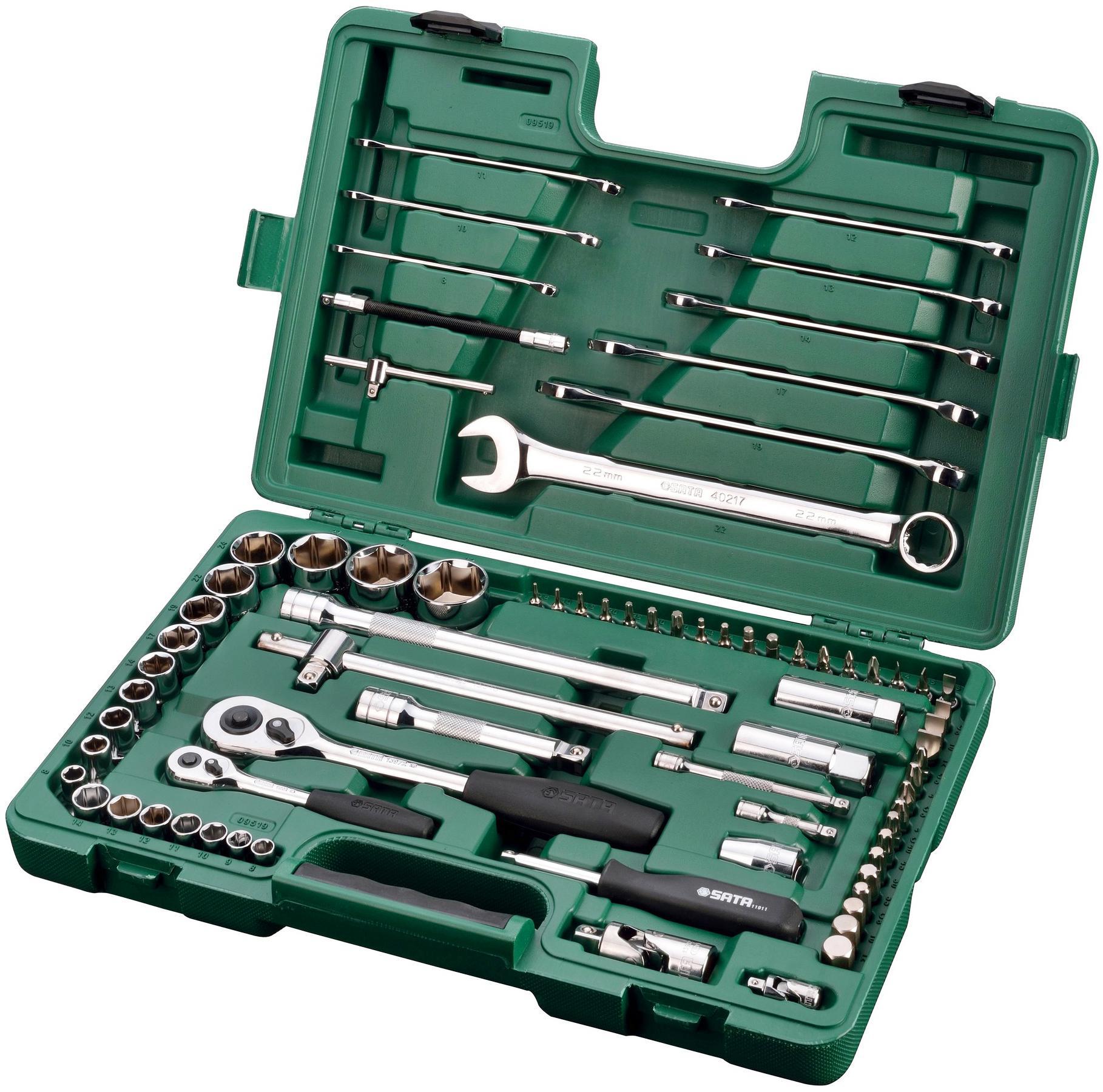 Набор инструментов универсальный Sata 09519 набор инструментов универсальный sata 09502