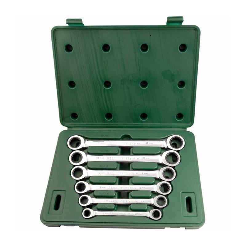 Набор ключей Sata 09025 (8 - 19 мм)  набор ключей sata 11пр 08023
