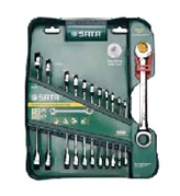 Набор гаечных ключей Sata 09066 (8 - 19 мм) цена