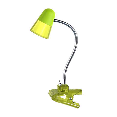 купить настольная лампа на прищепке Лампа настольная Horoz electric Hl014lgr