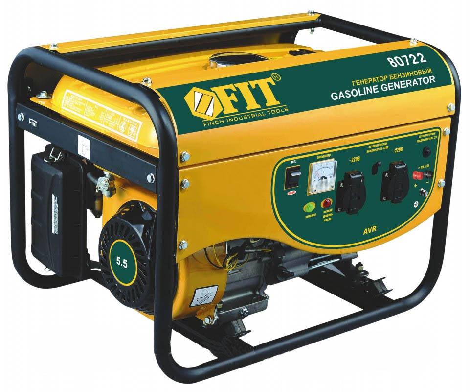 Бензиновый генератор Fit Gg-2000l бензиновый генератор firman rd8910e1