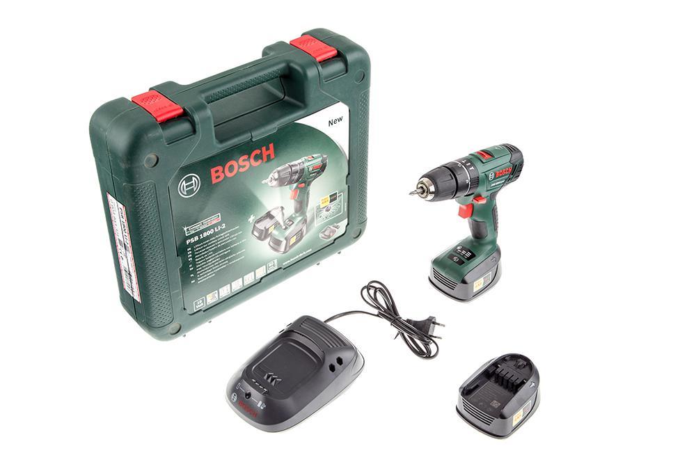 Дрель-шуруповерт Bosch Psb 1800 li-2 (0.603.9a3.321)