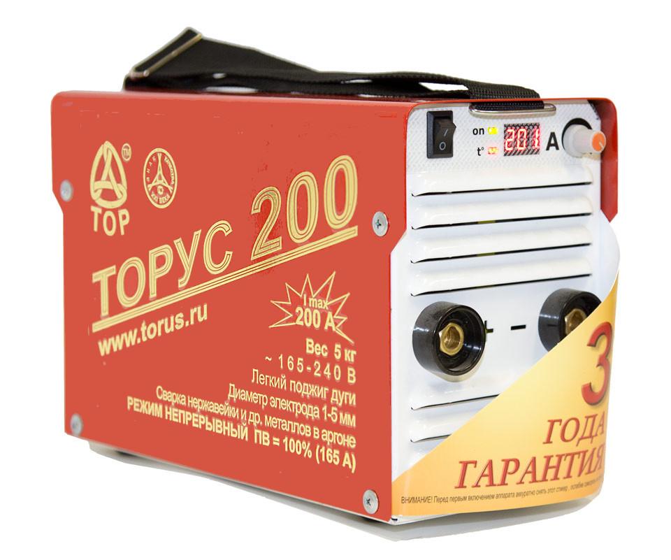 Купить со скидкой Сварочный аппарат ТОРУС 200 КЛАССИК НАКС + провода