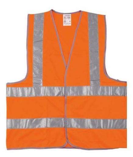 Жилет Newton оранжевый 4 полосы сигнальный жилет сибртех оранжевый xxl 89514