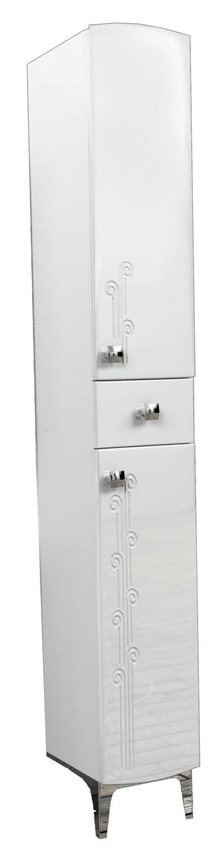 Пенал AqualifeМебель для ванной комнаты<br>Тип: пенал,<br>Тип установки мебели для ванной: напольный,<br>Материал изготовления мебели для ванной: дсп,<br>Цвет мебели для ванной: белый,<br>С ящиками: есть,<br>Вес нетто: 27.1<br>