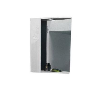 Шкаф с зеркалом AQUALIFE Болония 58 ЛЕВ