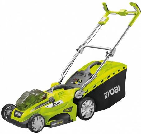 где купить Аккумуляторная газонокосилка Ryobi 3002160(olm1840h) по лучшей цене