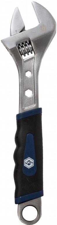Ключ гаечный разводной КОБАЛЬТ 647-574 (0 - 35 мм) ключ разводной truper pet