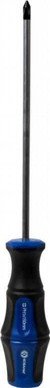 Отвертка крестовая КОБАЛЬТ 646-348  отвертка крестовая ph 3x150 мм ударная кобальт стандарт