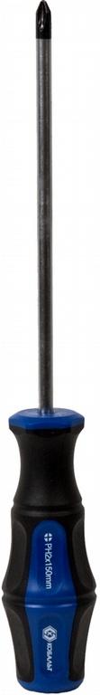 Отвертка крестовая КОБАЛЬТ 646-362  отвертка крестовая ph 3x150 мм ударная кобальт стандарт