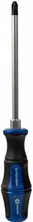 Отвертка крестовая КОБАЛЬТ 646-614  отвертка крестовая ph 3x150 мм ударная кобальт стандарт