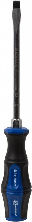 Отвертка КОБАЛЬТ 646-560 отвертка ударная ultra grip sl 8 x 150 мм s2 кобальт 646 560
